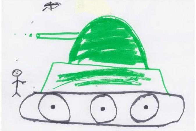 bambini siriani disegni multimedia