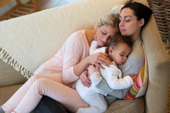 mamme lesbiche e ragazze