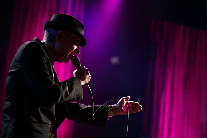 Leonard Cohen lettera amore