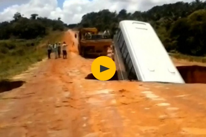 brasile video bus cratere