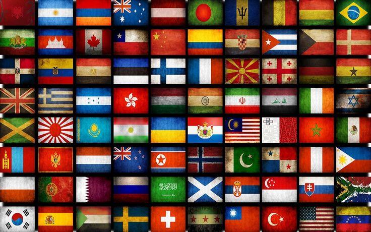 Qual il significato delle bandiere del mondo tpi - Bandiere bianche a colori ...