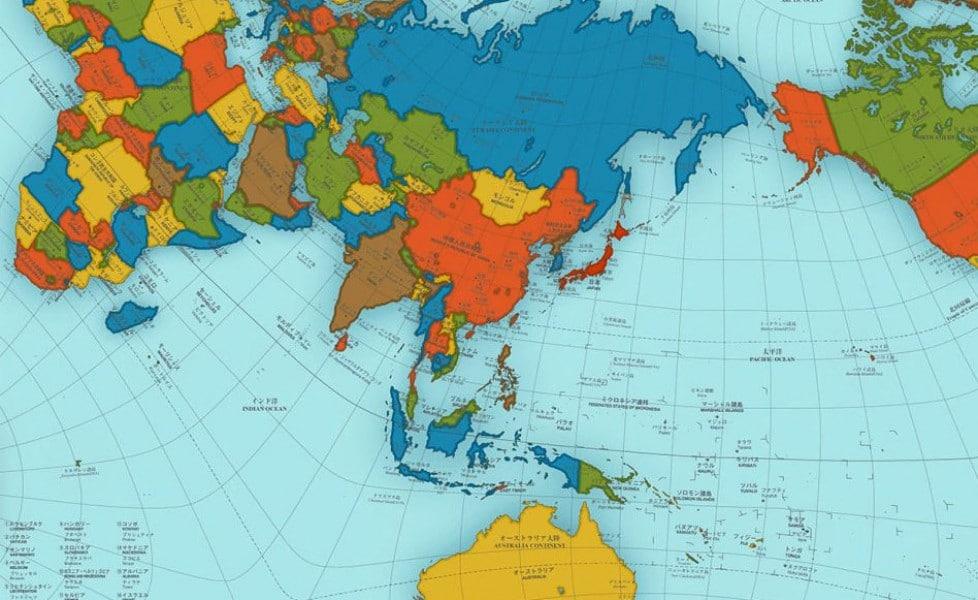Cartina Politica Mondo 2017.La Mappa Del Mondo Piu Precisa Di Sempre Tpi