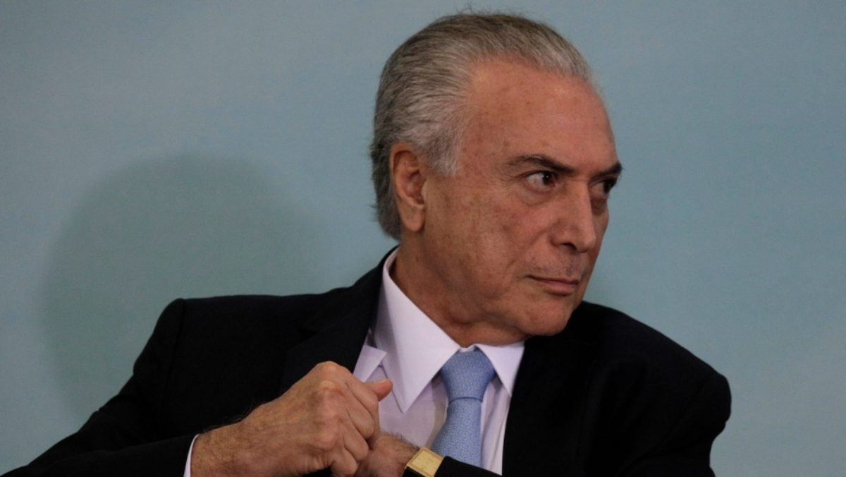 Brasilia. Michel Temer è accusato di corruzione