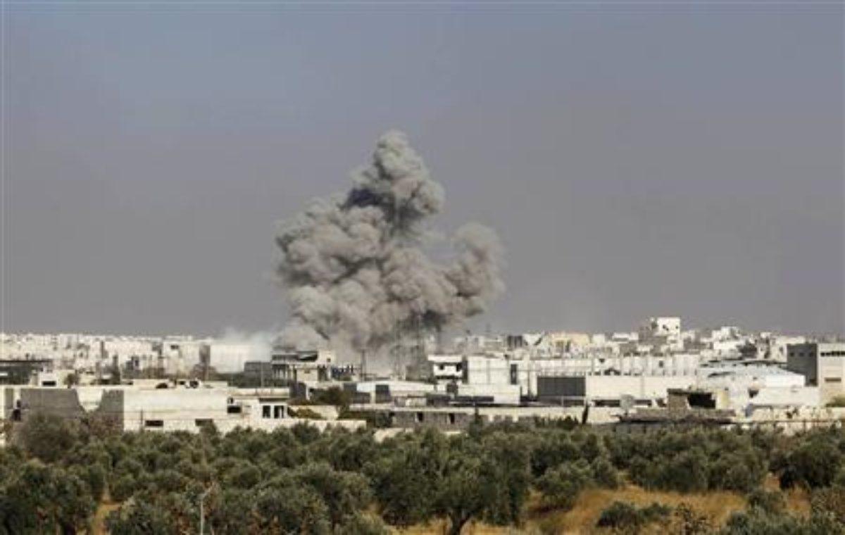 Attacco aereo Siria