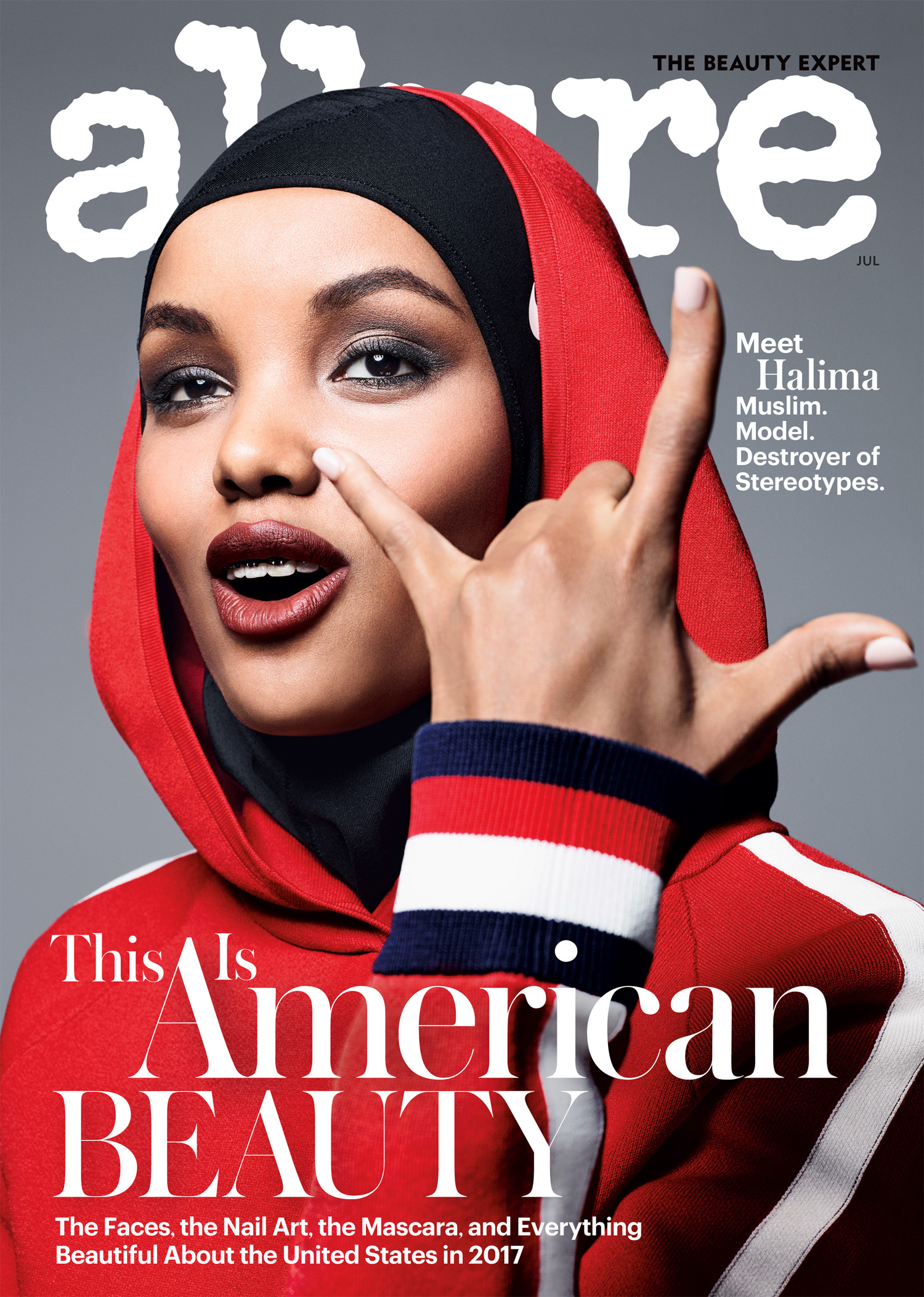 Prima modella hijab copertina Stati Uniti