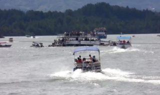 Naufragio barca turistica Colombia