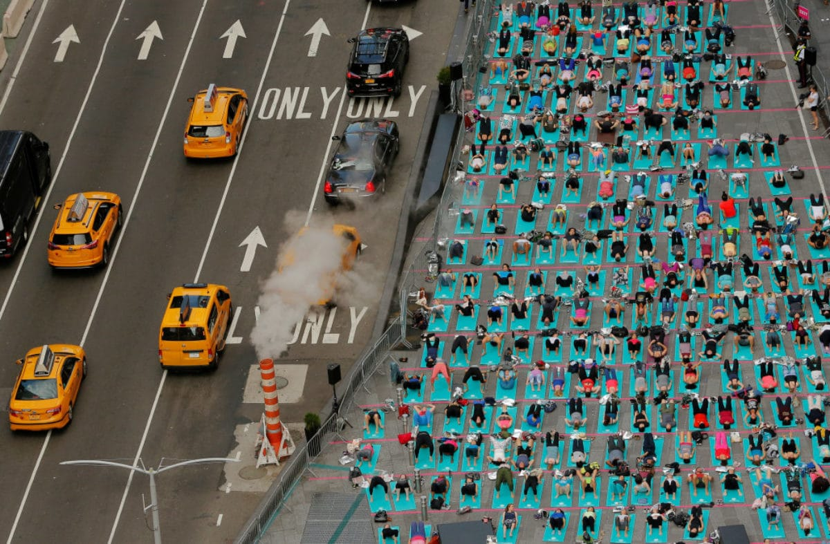 yoga times square