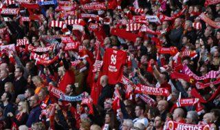 I tifosi del Liverpool chiedono giustizia per la strage di Hillsborough