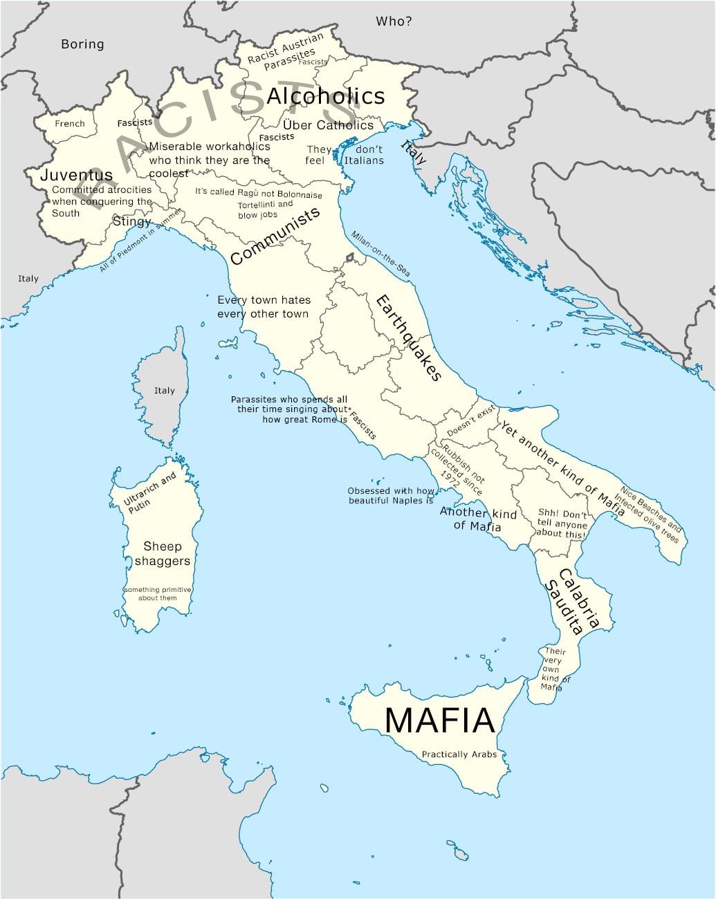 L'Italia degli stereotipi