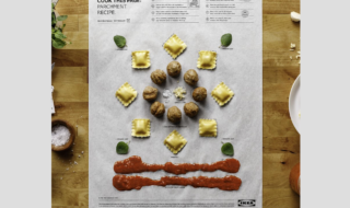 I poster Ikea che si possono cucinare