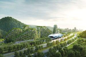 città foresta