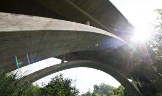 Il viadotto di Cabezon de la Sal