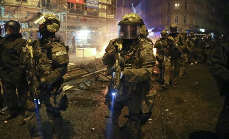 Forze speciali tedesche Amburgo G20