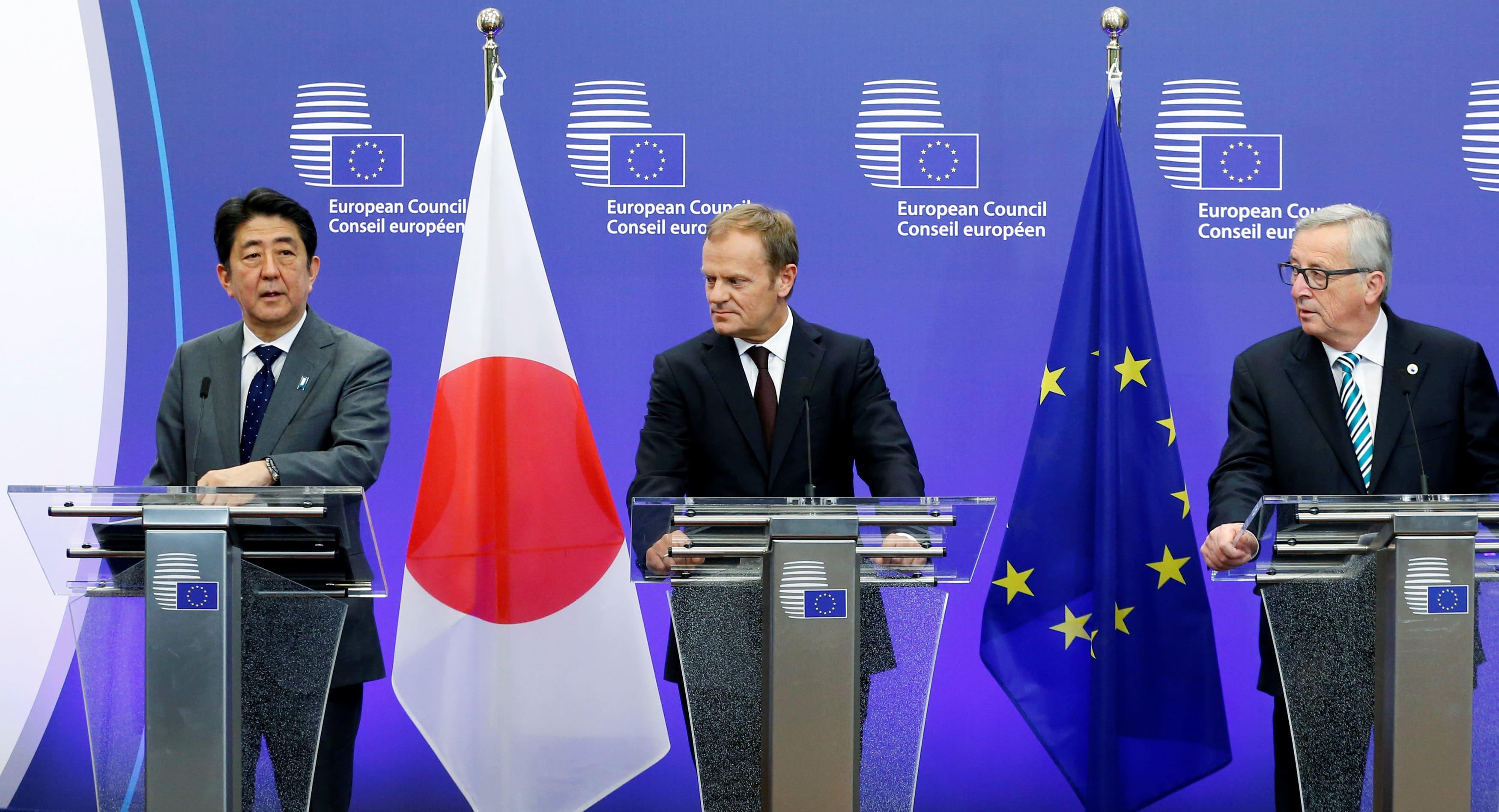Ue-Giappone, accordo sul libero scambio