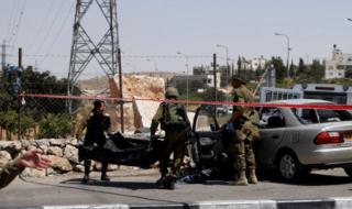 attacco palestinese soldati israeliani