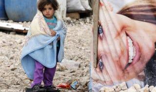 bambina siriana campo valle bekaa libano