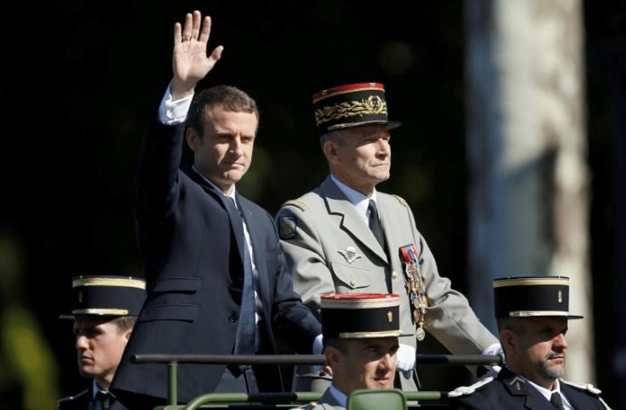 Francia, primi guai per Macron: si dimette il capo delle forze armate