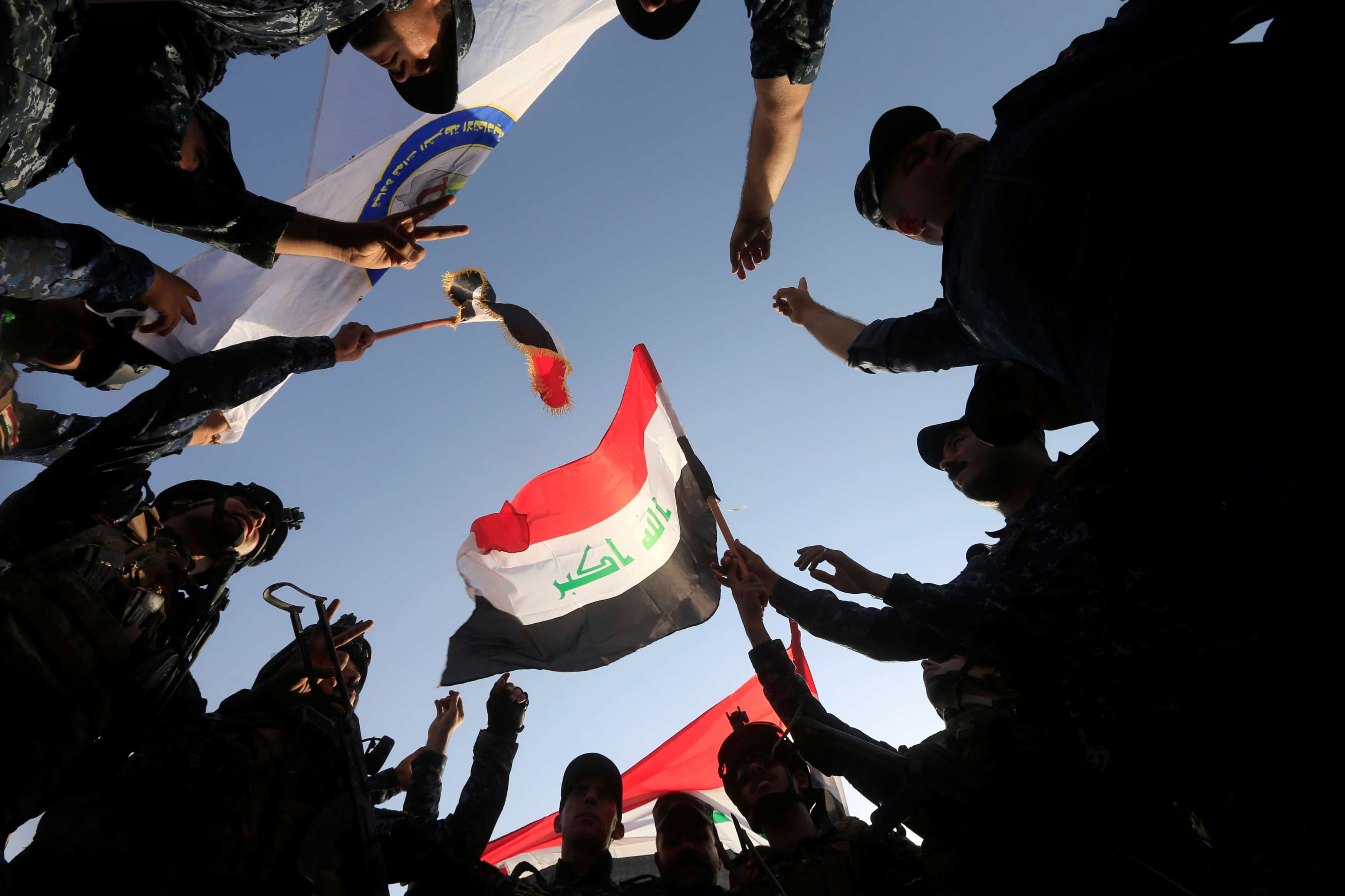 Polizia irachena Mosul ovest