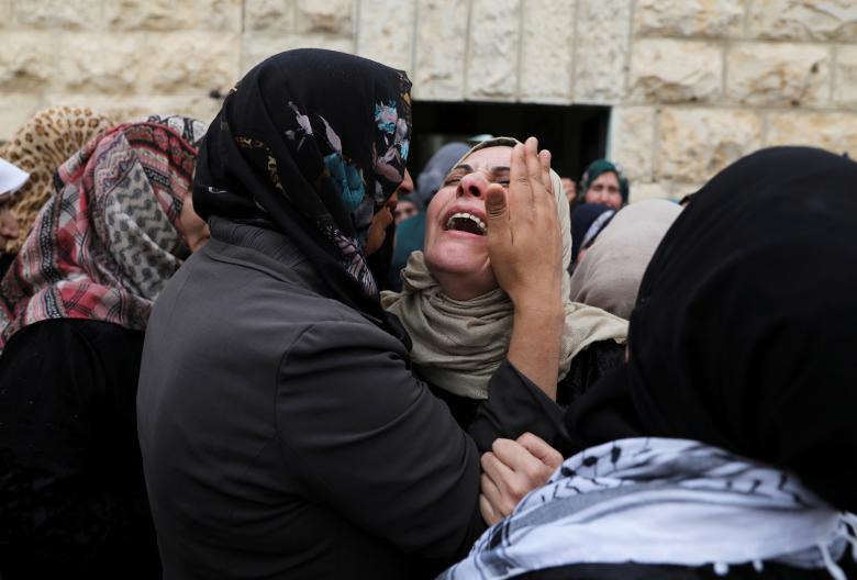 funerale palestinese