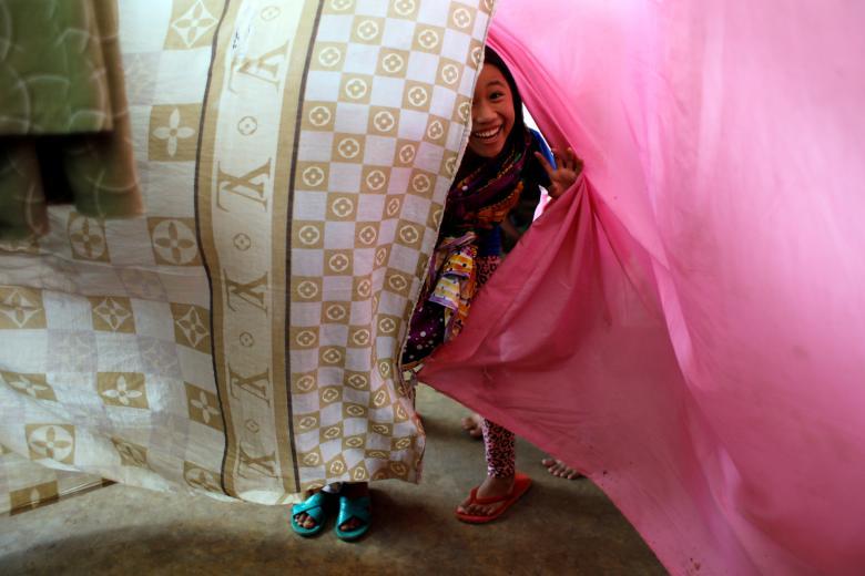 Bambina a Marawi city Philippine