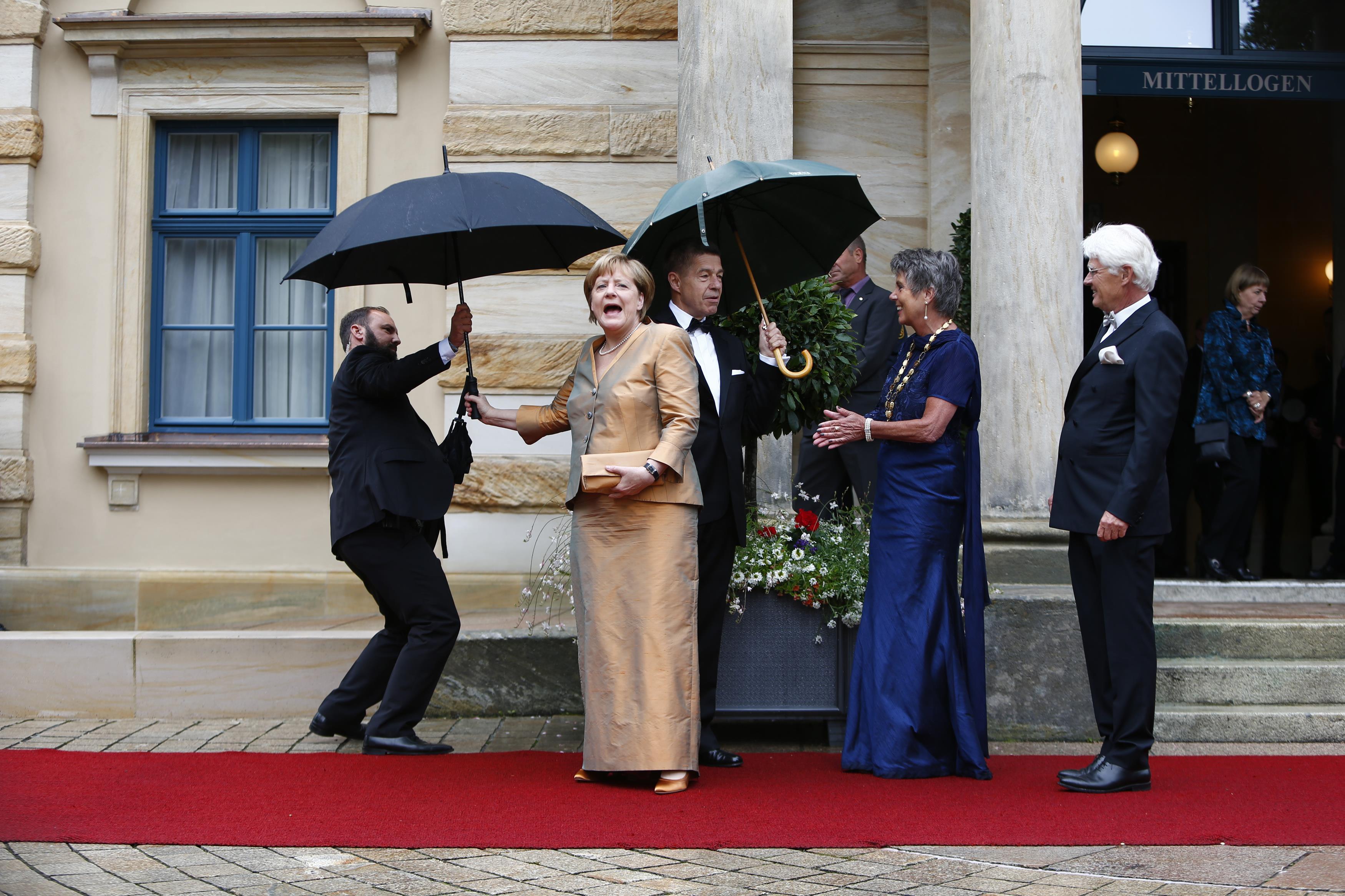 Angela Merkel Festival Bayreuth