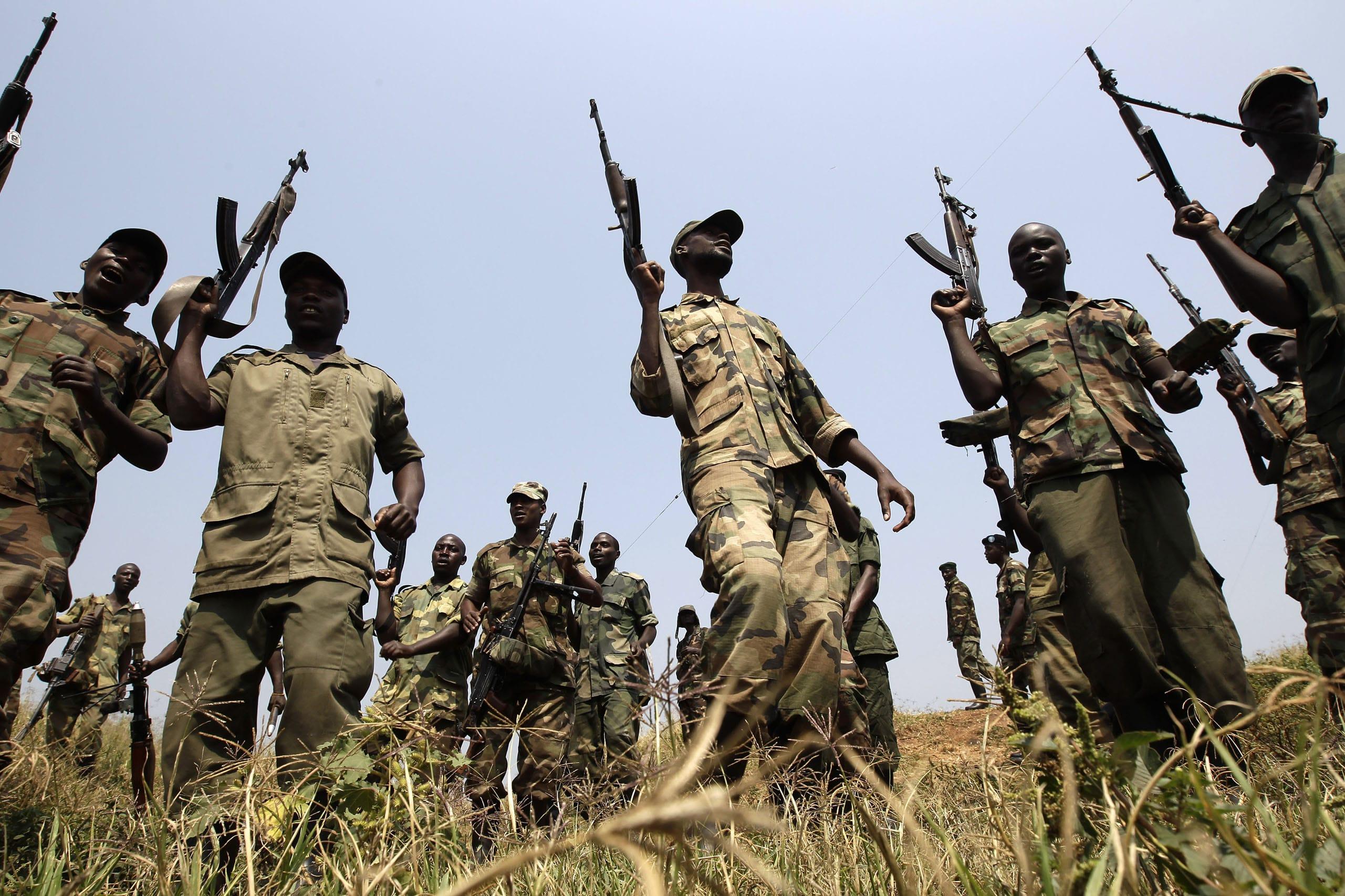 milizie ribelli RD Congo