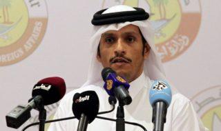 Il ministro degli esteri del Qatar