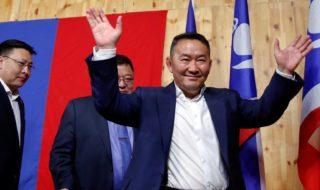 mongolia presidente