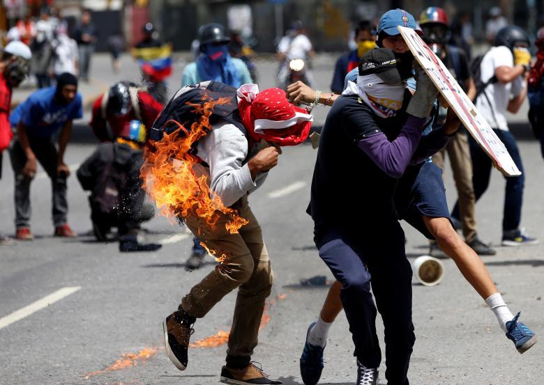 Proteste molotov caracas