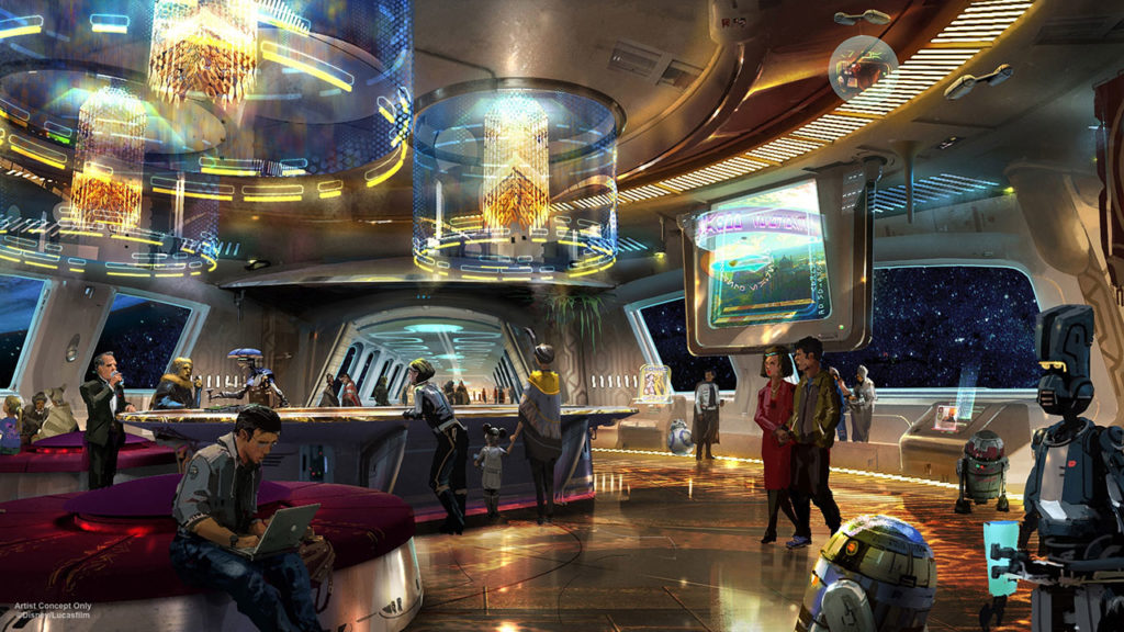 Disney rendering star wars