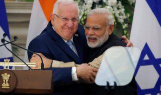 Rivlin Modi Israele India