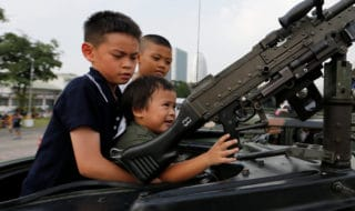 Thailandia armi da fuoco