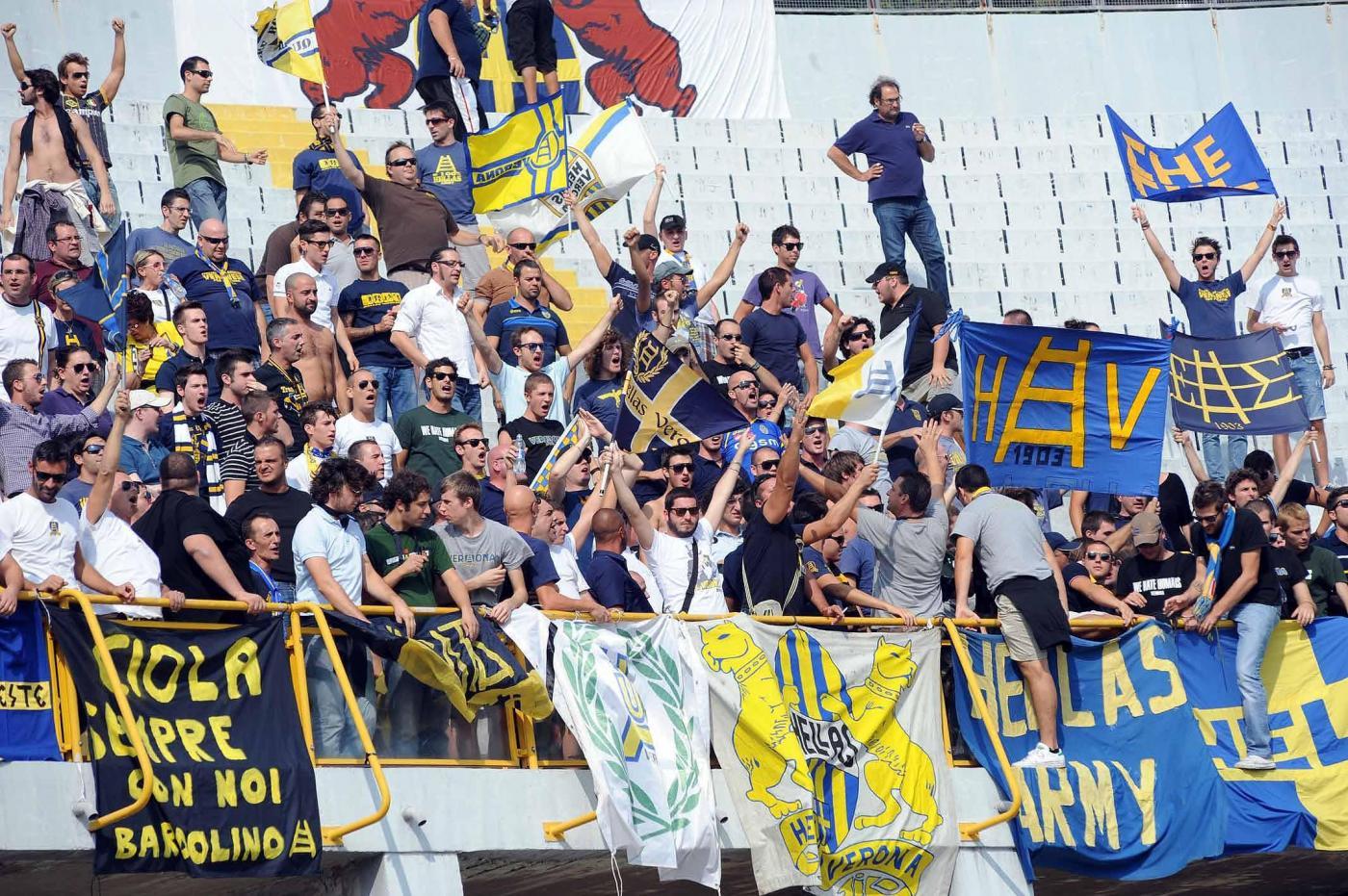 Il coro nazista degli ultras dell'Hellas Verona – TPI