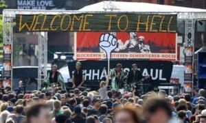 proteste amburgo