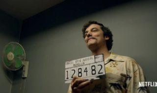 L'attore brasiliano Wagner Moura interpreta il narcotrafficante colombiano Pablo Escobar nella serie tv Narcos, in onda su Netflix