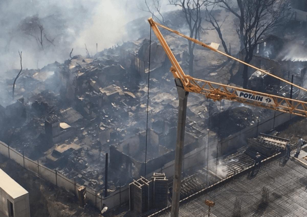 Russia: 25 edifici in fiamme a Rostov, 560 evacuati