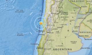 Un terremoto di magnitudo 5.9 ha colpito il Cile