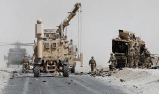 afghanistan kandahar convoglio