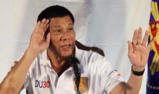 Filippine Presidente Rodrigo Duterte