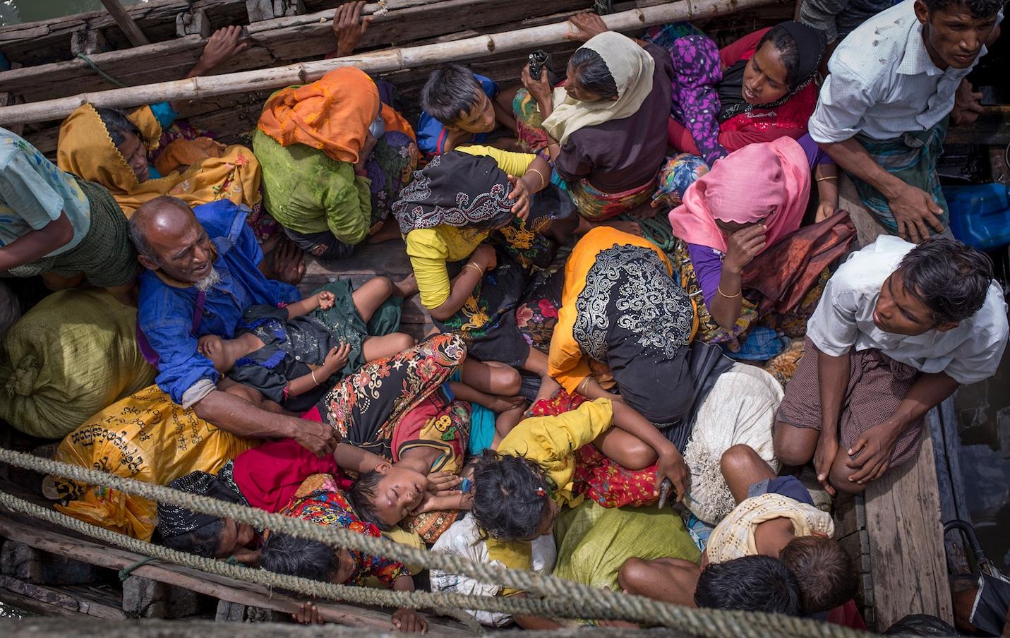 BANGLADESH-MYANMAR-ROHINGYA