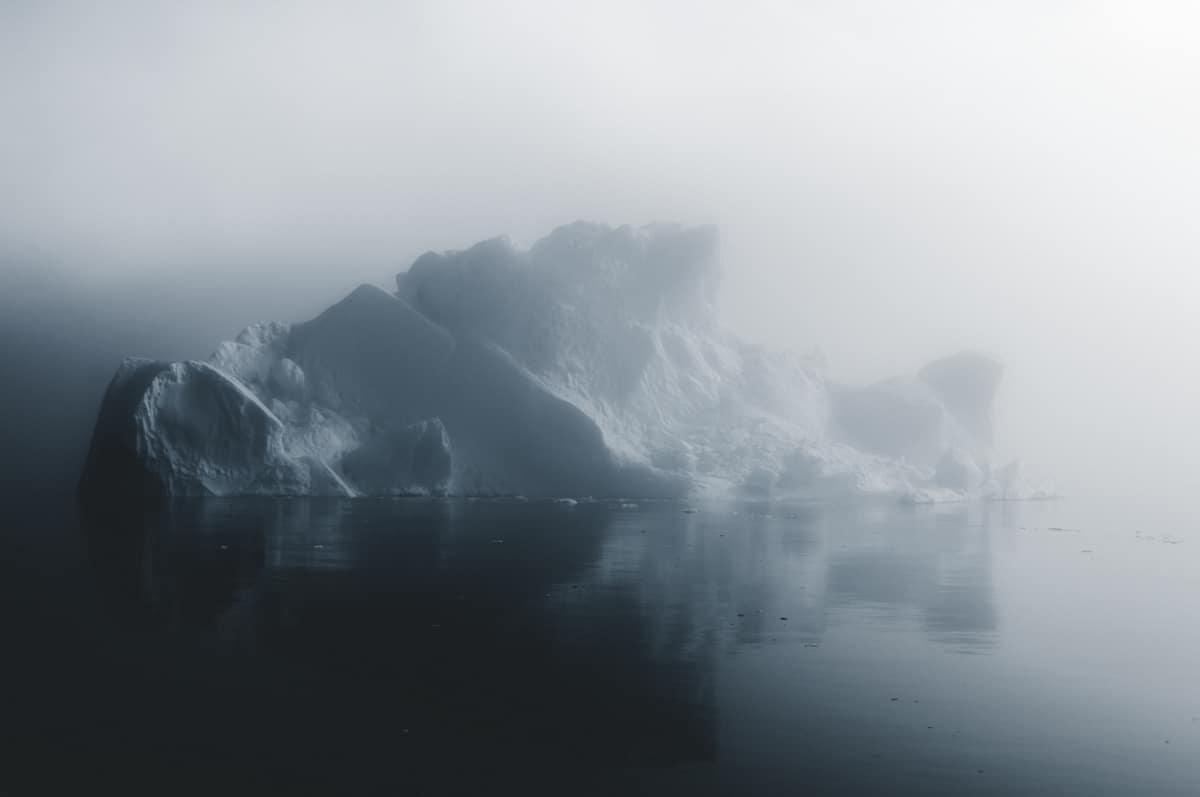 Il progetto di Jan Erik Waider, intitolato Arctic Silence, raffigura i ghiacci della Groenlandia