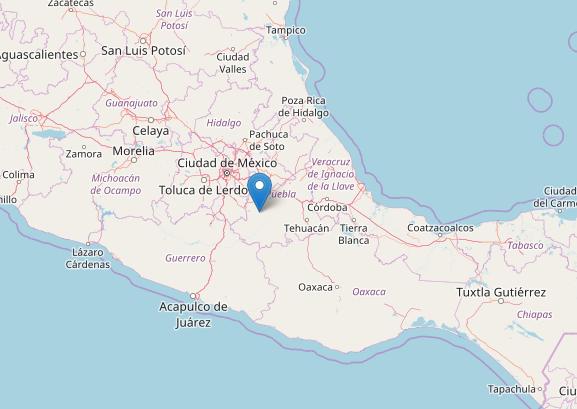 mappa-terremoto-sud-messico-19-settembre-2017