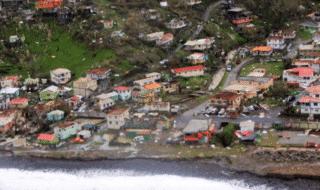 Il passaggio dell'uragano Maria ha danneggiato quasi il 90 per cento delle abitazioni sull'isola di Dominica