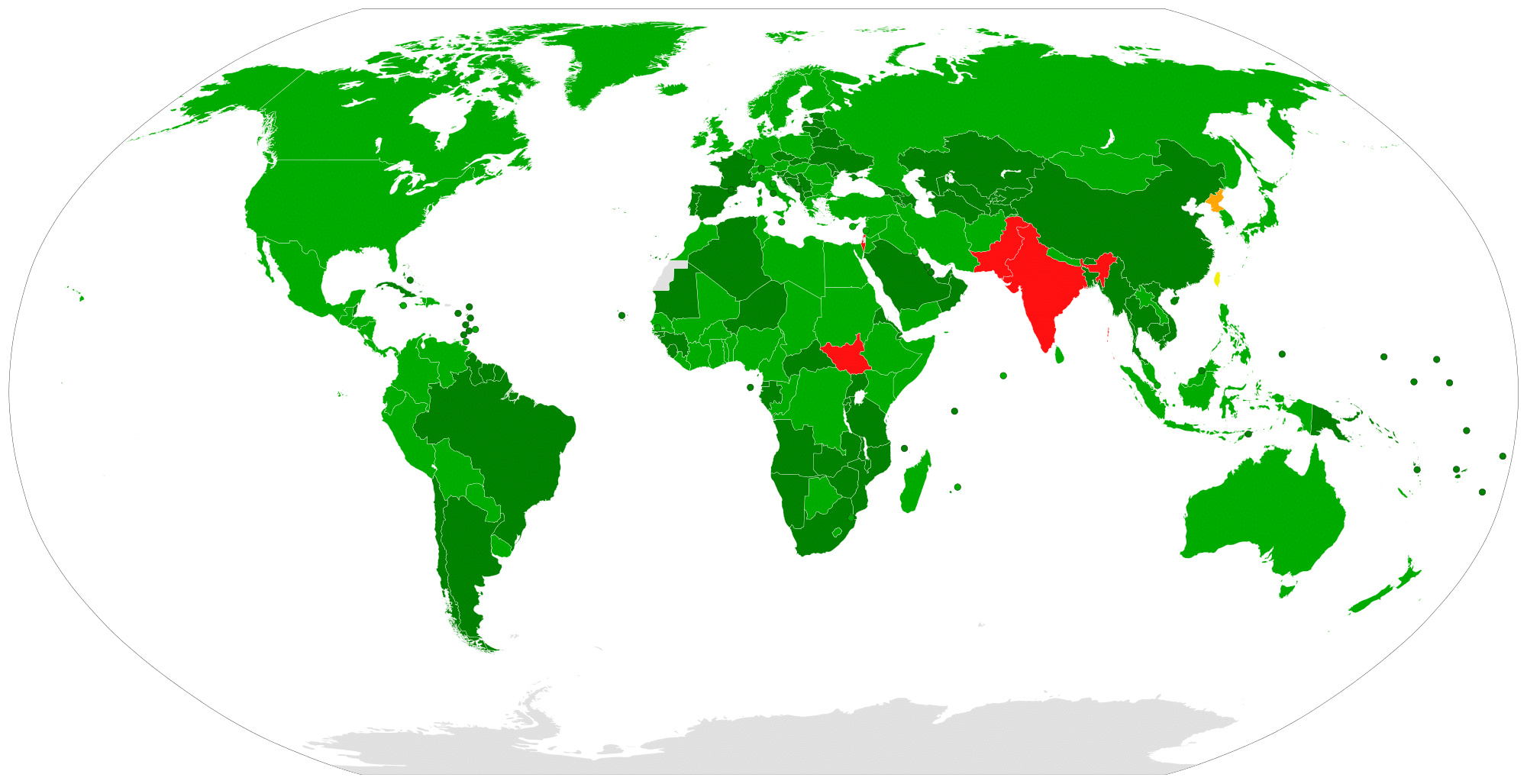 Trattato non proliferazione nucleare