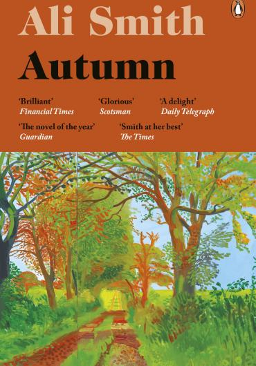 La copertina del libro Autumn di Eli Smith