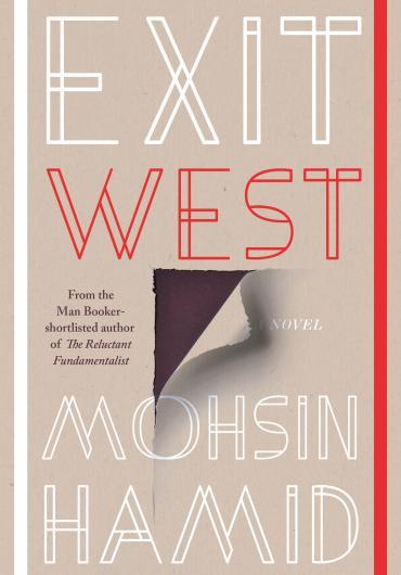 La copertina del libro Exit West di Mohsin Hamid