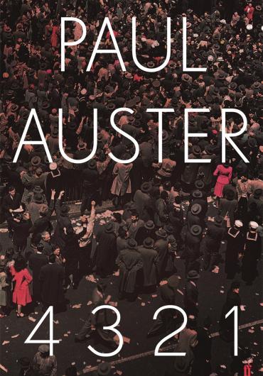 Copertina del libro 4321 di Paul Auster