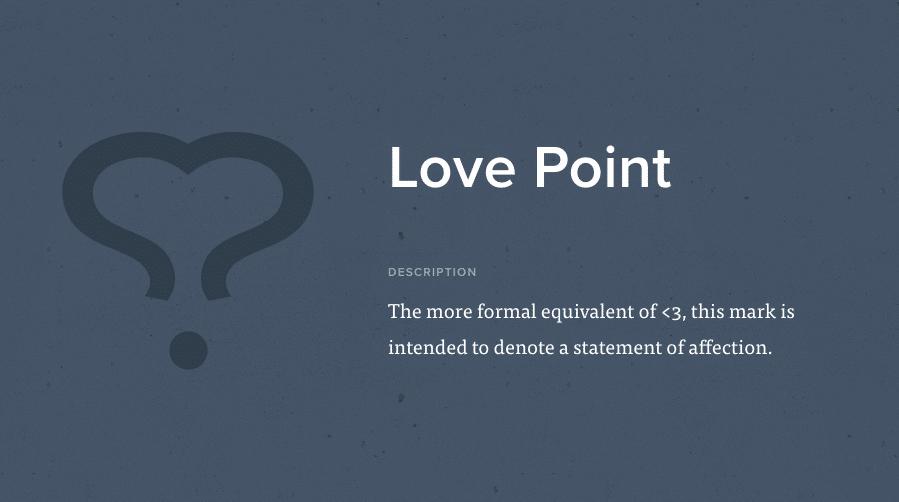 Il punto d'amore è l'equivalente del