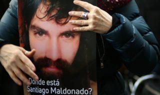 santiago maldonado morto argentina
