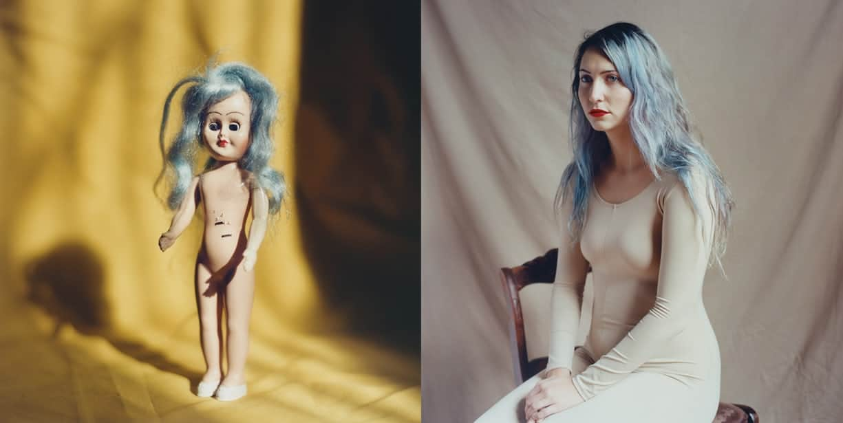 grace banks women art dolls